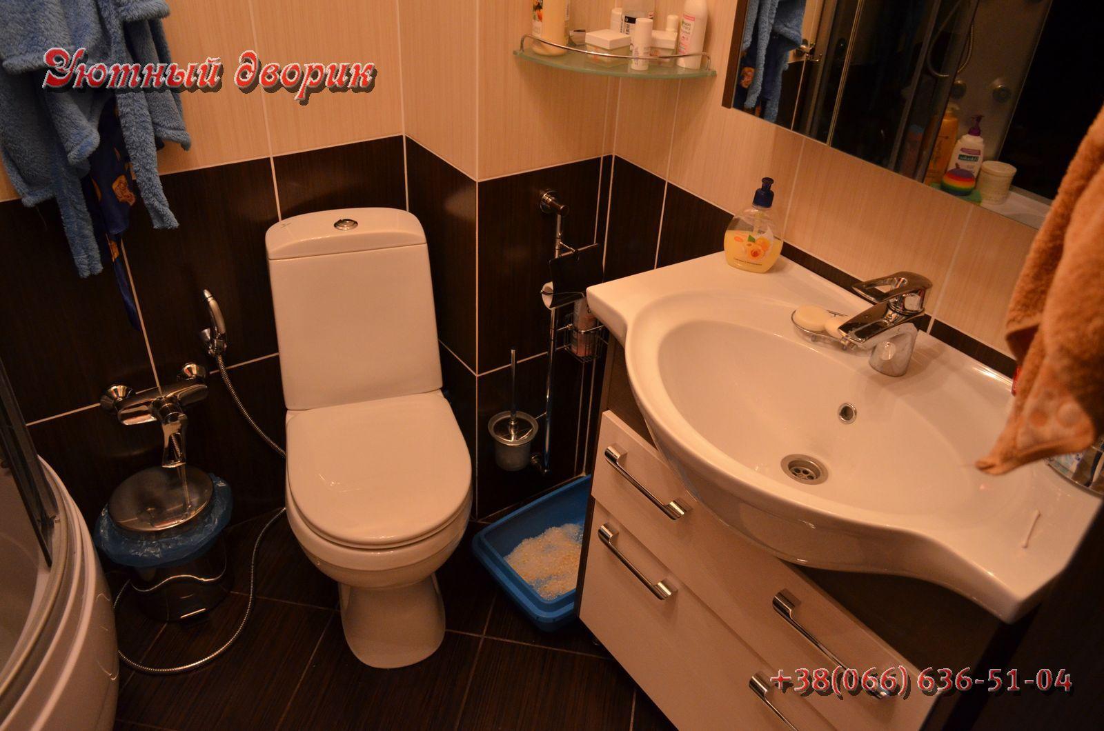 Ванная в гостинке